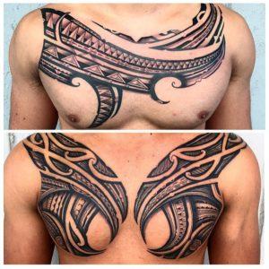 tatuaje-tribal-hombre-pecho1