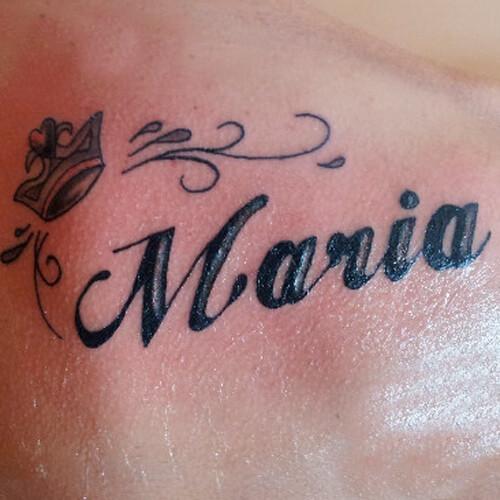 Tatuajes De Nombres De Letras De Frases De Henna Y De Música